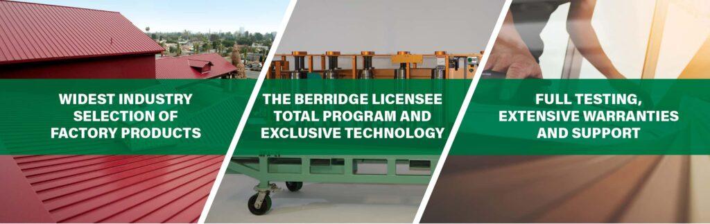 Why build with Berridge