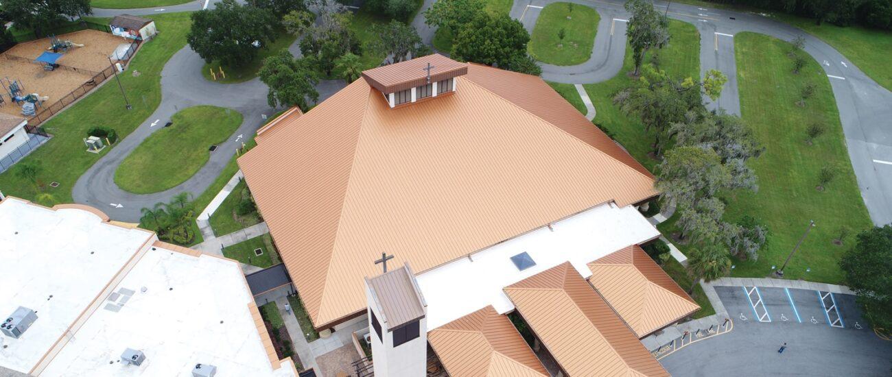 Resurrection Catholic Church Cee-Lock Copper Cote
